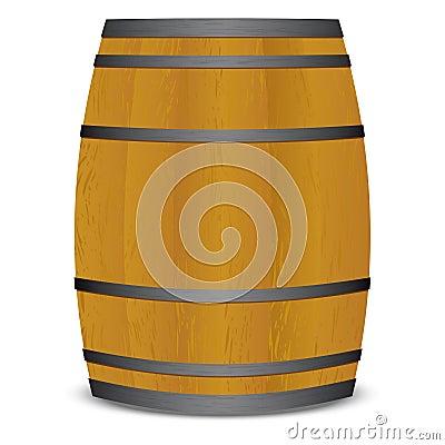 Beer keg barrel
