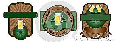 Beer Label Emblem Set