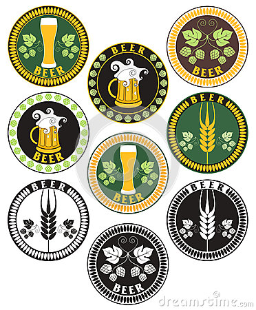 Beer. Labels