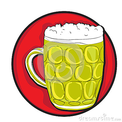 Beer pint clip art