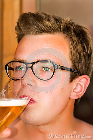 Beer portrait