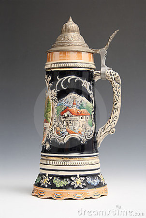 Beer Stein From Mittenwold