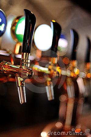Free Beer Taps Stock Image - 17047661