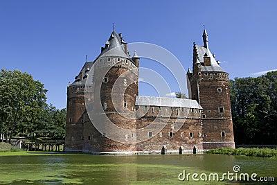 Beersel Castle in Brussels