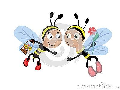 Bees CMYK