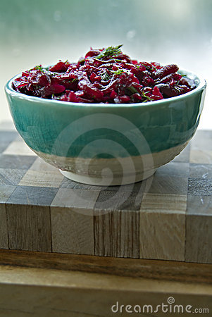 Free Beet Salad Royalty Free Stock Photos - 4181088