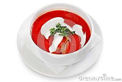 Beet soup,borscht