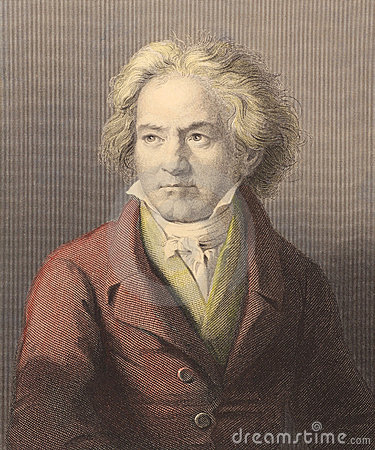 Beethoven Editorial Photo