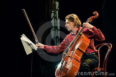 Beethoven Duo - Fedor Elesin and Alina Kabanova Editorial Stock Image