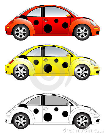 Free Beetle Car Vector Illustration Stock Photo - 3149790