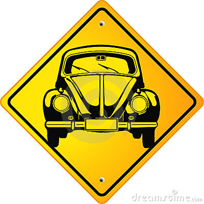 Beetle Oldtimer Sign