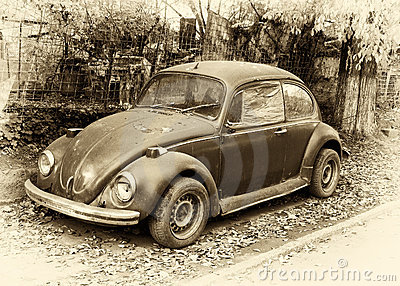 Beetle retro car
