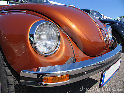 Beetle , Volkswagen , classic design, close-up