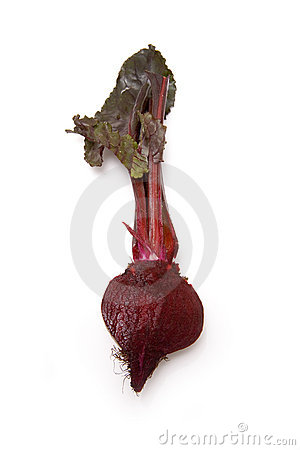 Beetroot and leaves