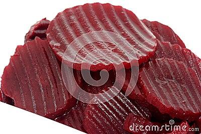 Beetroot slices