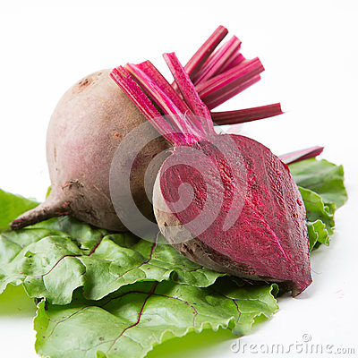 Free Beets With Leaves Stock Image - 42777011