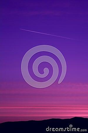 Free Before Sunrise Sky Stock Photography - 113825882