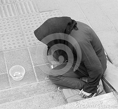 Beggar Editorial Image