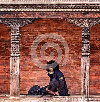 Free Beggar Nepal Royalty Free Stock Photo - 108676645