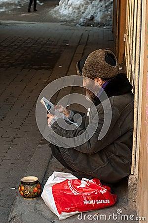 Beggar Editorial Photography