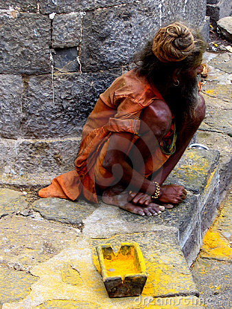 Beggar Sadhu
