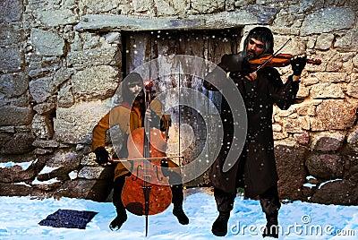 Beggars musicians