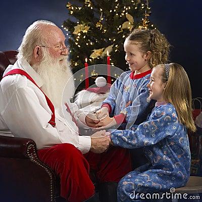 Free Begging Santa For Toys Stock Photo - 2520940