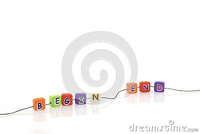 Begin-end