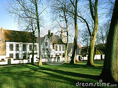 Beguinage in Bruges