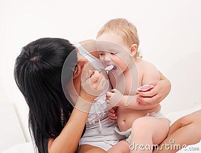 Behandla som ett barn modern