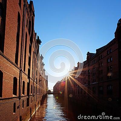 Beherbergen Sie Stadt Hamburg