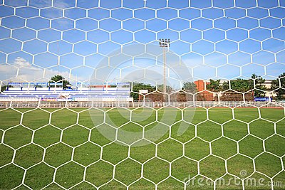 Behind A Goal Stock Images - Image: 15905704