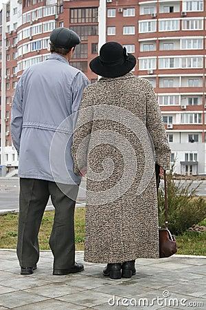 Free Behind Seniors Royalty Free Stock Photos - 721428