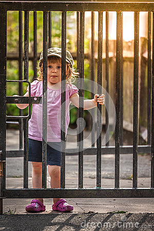 Free Behind The Gates Royalty Free Stock Images - 47219629