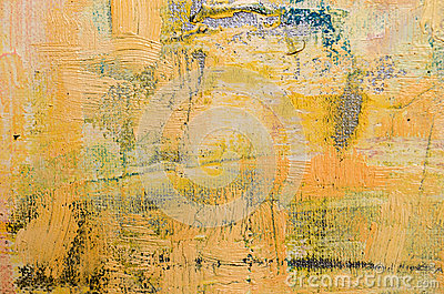 Beige Abstract Art Painting