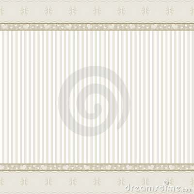 Beige background with lace frame