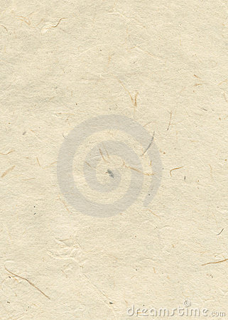 Beige blank hand-made textured paper