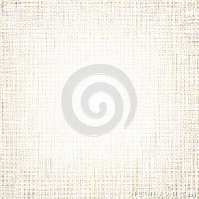 Beige canvas texture with delicate grid background