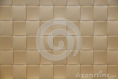Beige checkered Placemat, texture