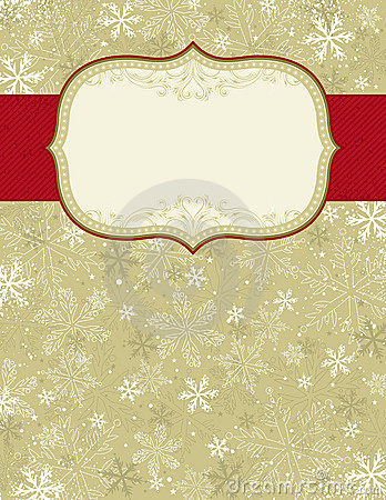 Beige christmas background,