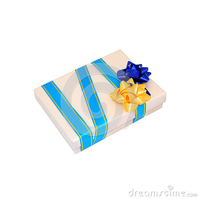 Beige Geschenkkasten