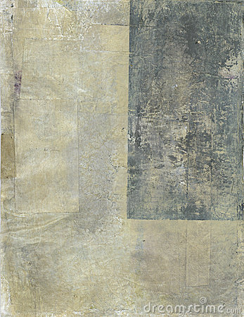 Beige and Gray Abstract