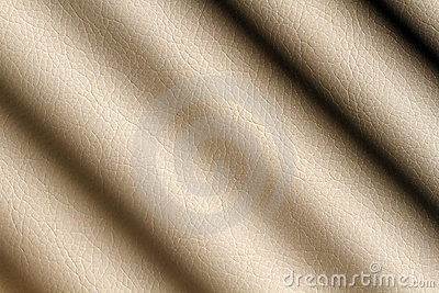 Beige leather shaded