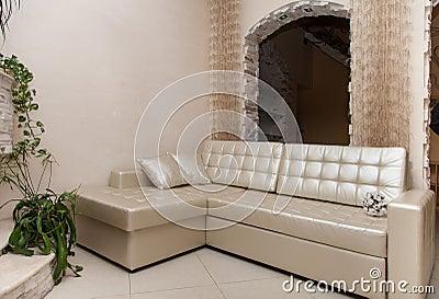 Beige living room