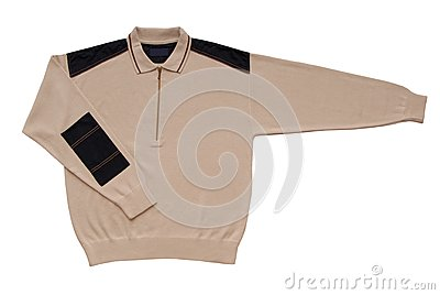 Beige male sweater