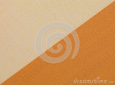 Beige and orange fabric texture
