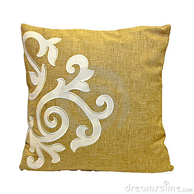 Beige Pillow Stock Images - Image: 17113094