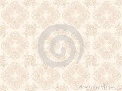 Beige seamless wallpaper pattern