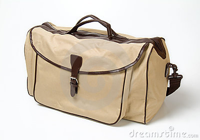 Beige shoulderbag