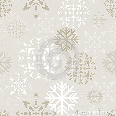 Beige Snow Background